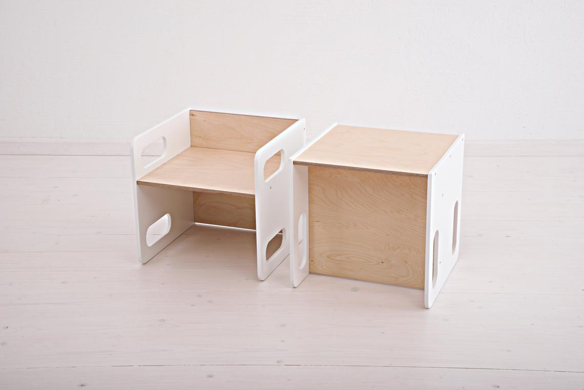 montessori sandalye takımı