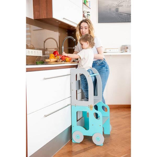montessori öğrenme kulesi