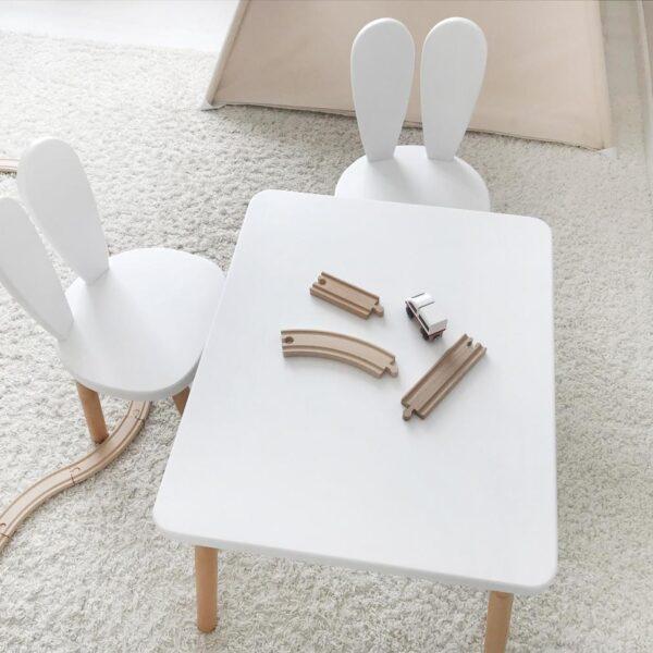 montessori tavşan masa